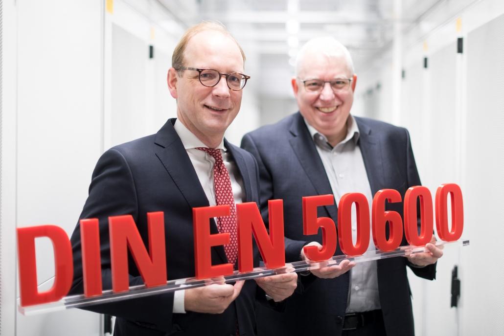 Kölner Hightech-Rechenzentrum nach DIN EN50600 ausgezeichnet! 1