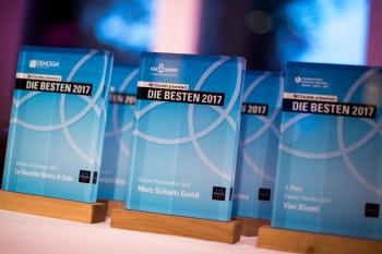 """Preisverleihung """"Die Besten 2017"""" 2"""