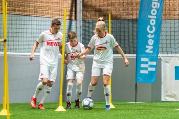 NetCologne und der 1. FC Köln suchen Fußballtalente aus der Region 2