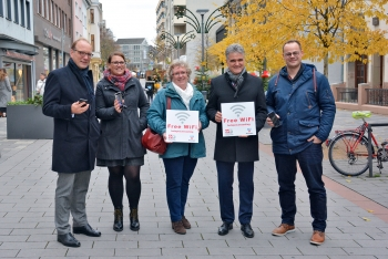 """hotspot.wesseling"" Kostenloses WLAN in der Wesselinger Innenstadt 2"