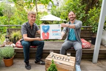 Wir spenden für dein Veedel: NetCologne spendet 25.000 Euro für 25 Betriebe aus Köln und der Region! 2