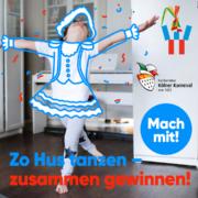 Kleine Tänzer/innen auf großer Bühne – Die NetCologne Karnevalsaktion 6