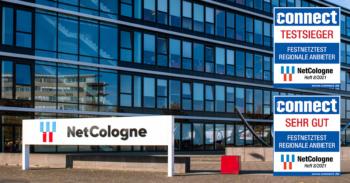 connect Testsieg für NetCologne: Das beste Netz kommt aus Köln. 1