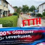 Schnelles Internet für Leverkusen: Glasfaserausbau schreitet voran und wird 2022 um vier weitere Stadtteile erweitert 1